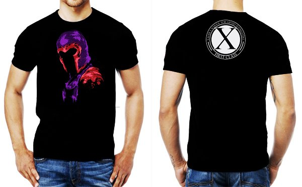 camiseta playera magneto x men