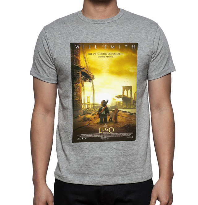 camiseta playera soy legenda