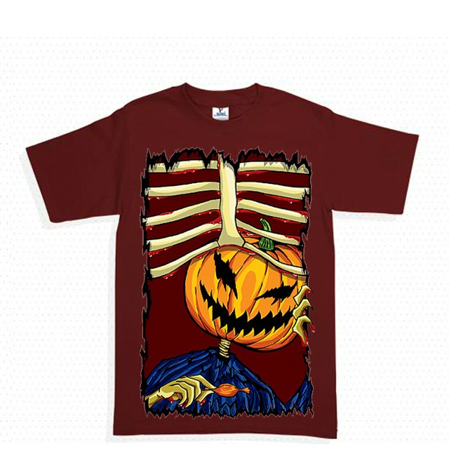 halloween costillas playera