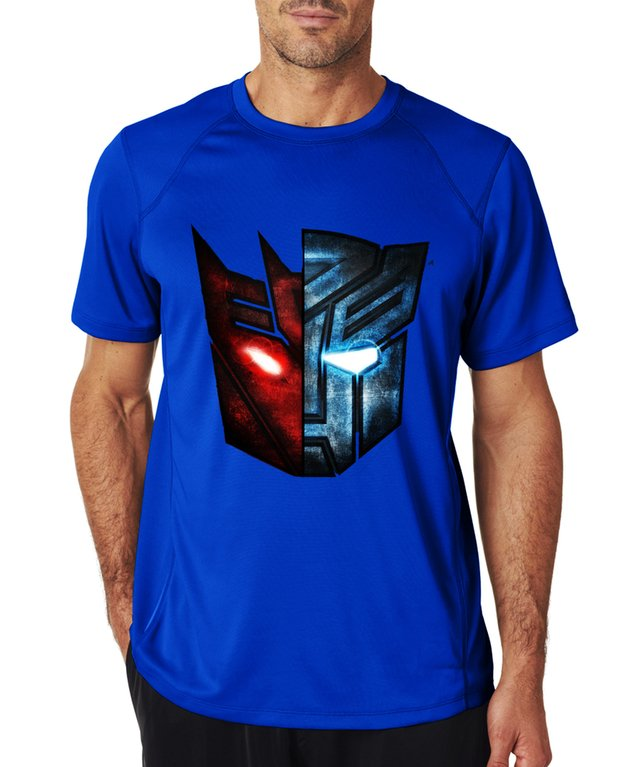 playera camiseta transformers