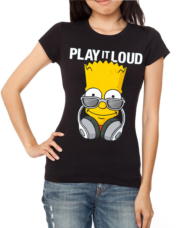 bart audifonos playera