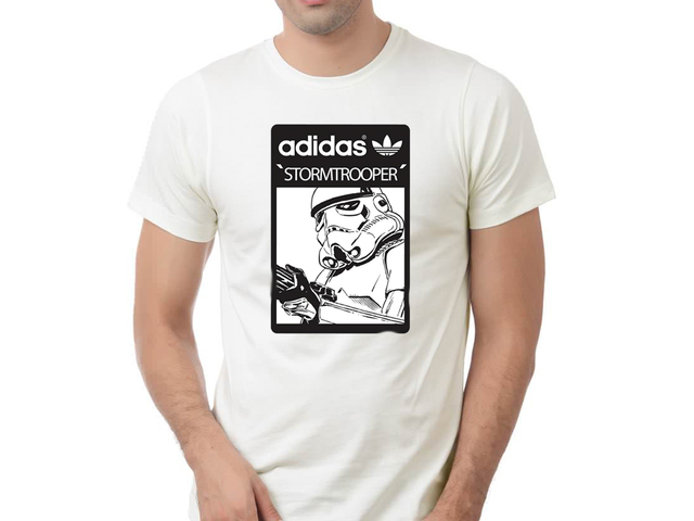 playera, camiseta, star, wars, adidas