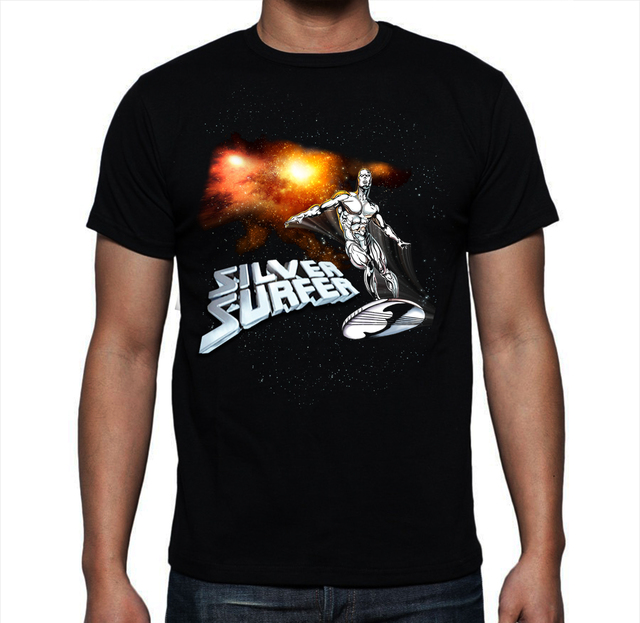 Playera Silver surfer, 4 fantasticos