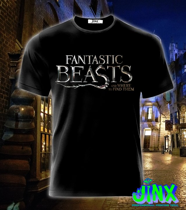 Playera o Camiseta Fantastic Beasts - Jinx