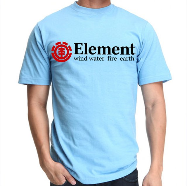 camiseta o playera element