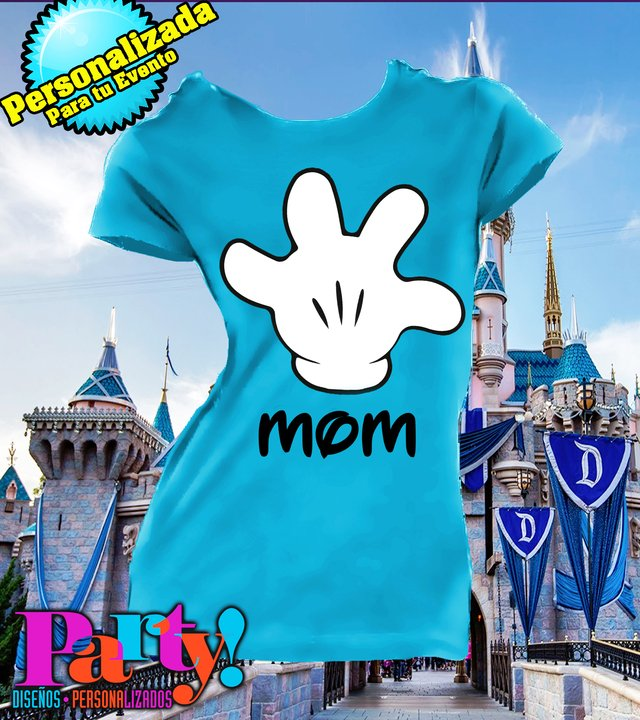 Playera Personalizada Mickey Vacation  en internet