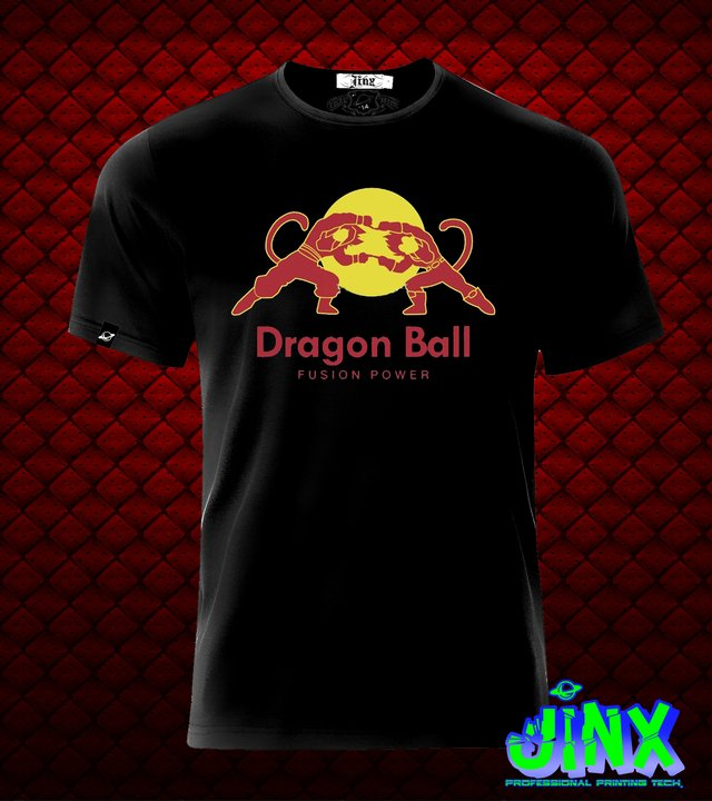 Playera o Camiseta Goku Red Dragon Bull en internet