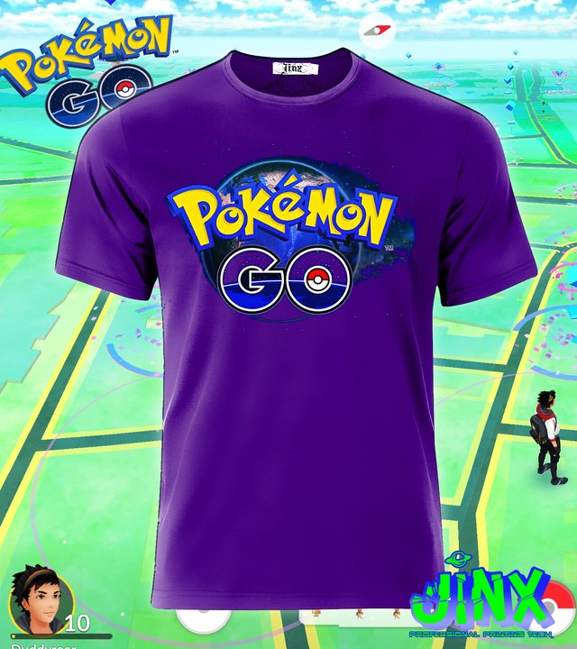 Playera o Camiseta Pokemon Go en internet