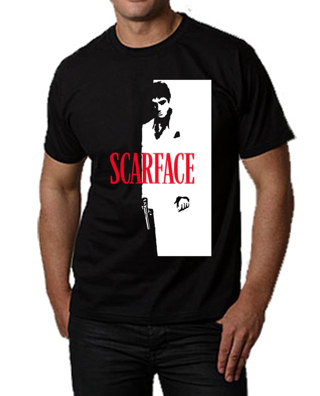 camiseta playera tony montana scarface