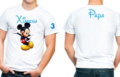 Playera Personalizada Mickey Mouse Party