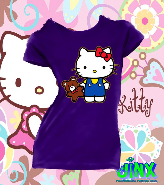 Playera o Camiseta Hello Kitty en internet