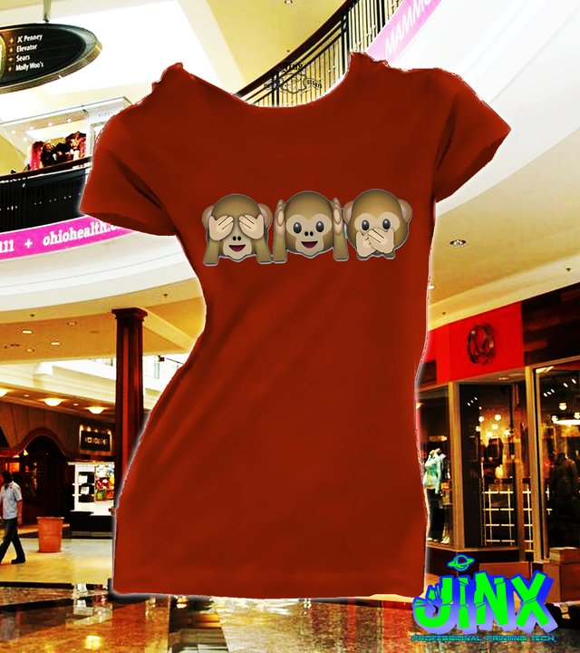 Playera o Camiseta 3 Monkey´s en internet