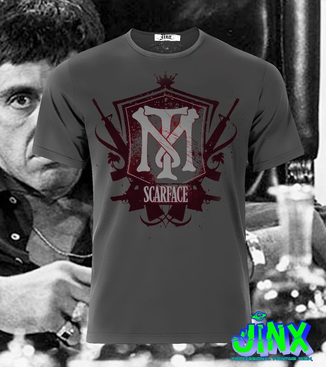playera de scarface