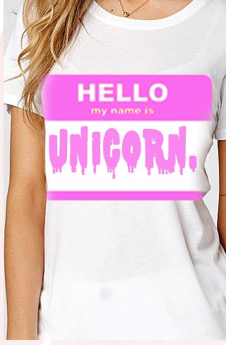 playera camiseta unicornios