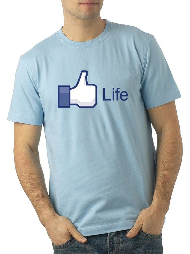 like face, camiseta
