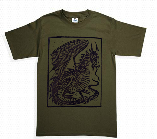 playera dragon medieval