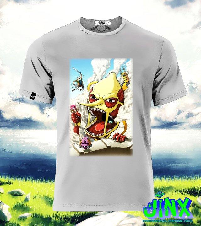 Playera o camiseta atack on adventure time jinx camiseta hora de aventura playera thecheapjerseys Images