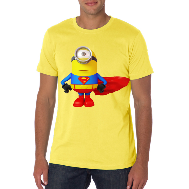 playera minion amarilla
