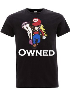 camiseta playera mario bross