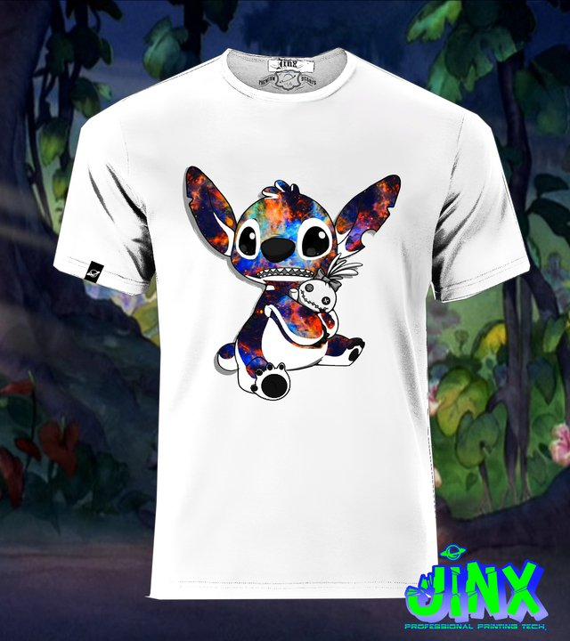 Lilo Stich Playera