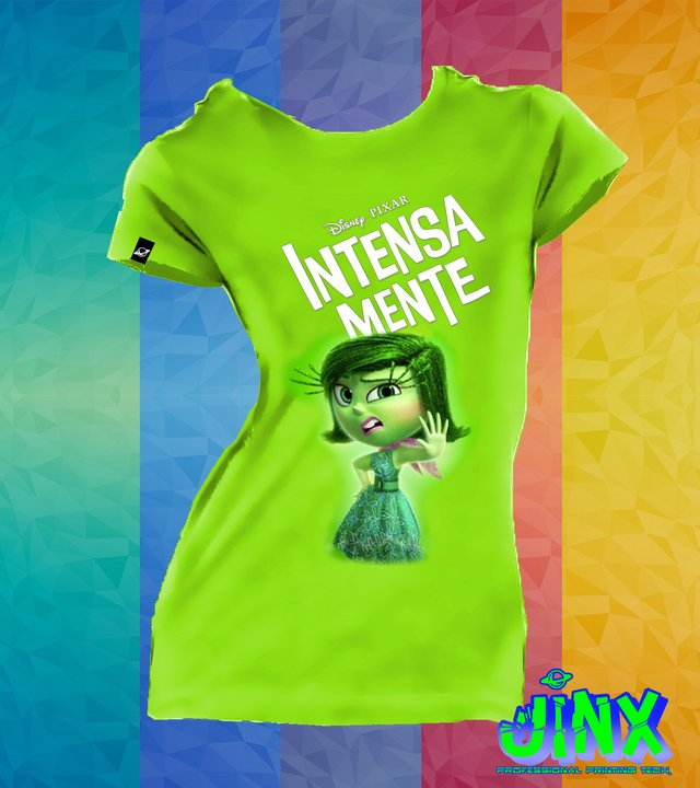 Playera Camiseta Intensamente Asco