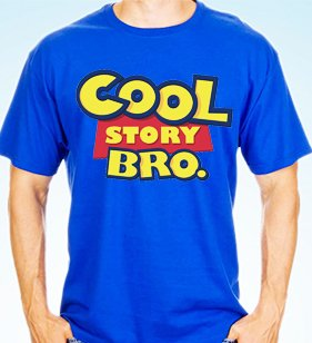 camiseta playera cool story bro