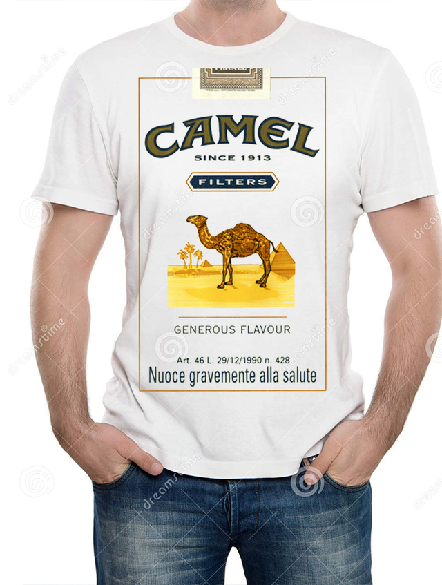 playera camiseta camel