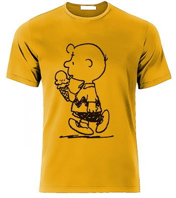 playera de charlie brown