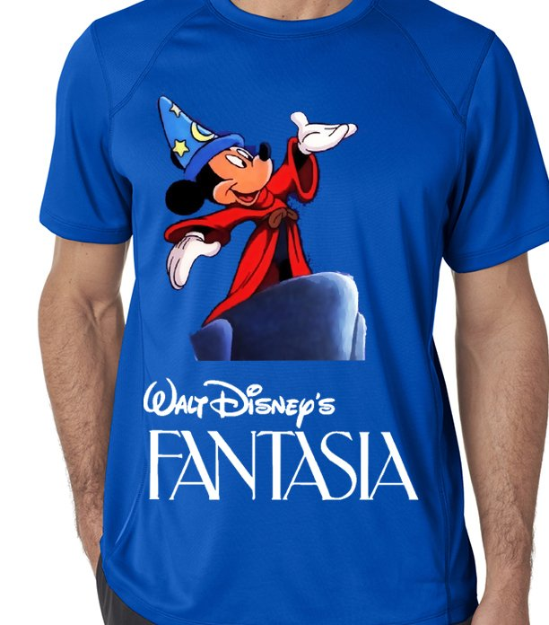 Camiseta playera mickey fantasia