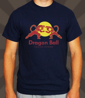 Playera o Camiseta Goku Red Dragon Bull - Jinx