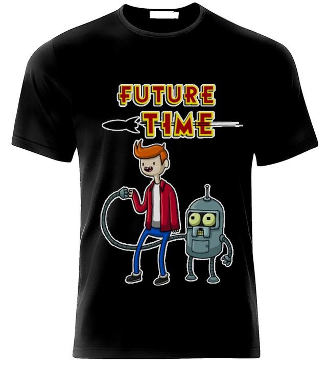 Playera o camiseta hora de futurama comprar en jinx futurama hora de aventura playera thecheapjerseys Images