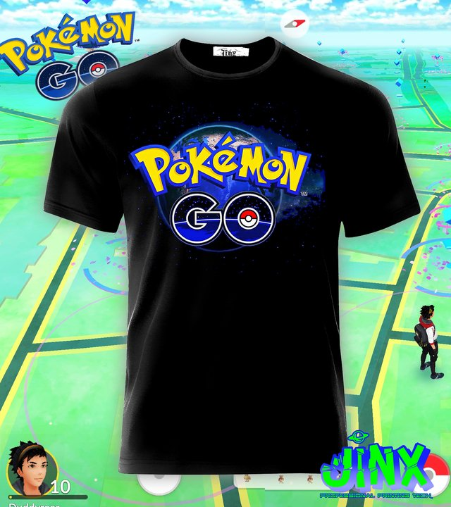 Playera o Camiseta Pokemon Go - Jinx