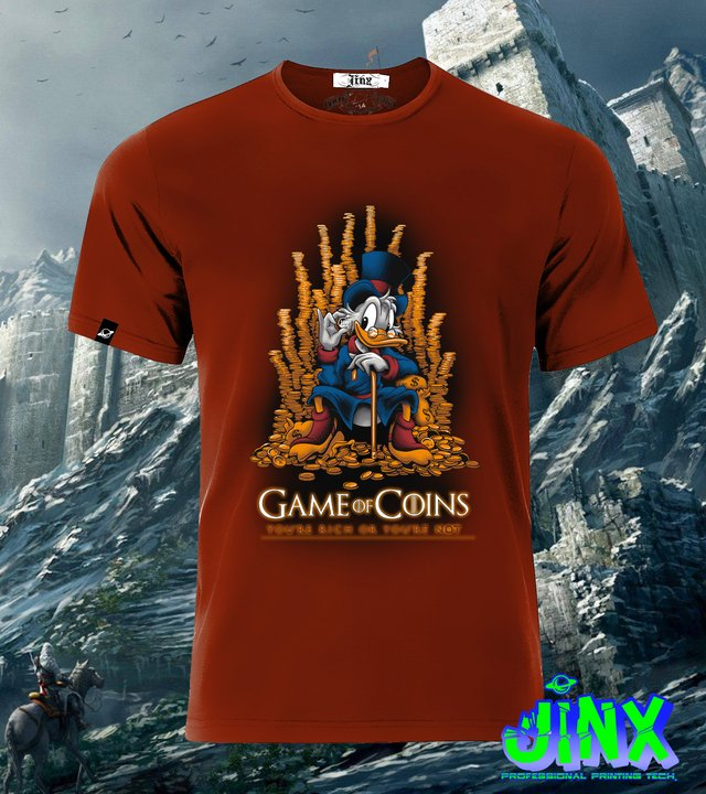 Playera o Camiseta Game Of Coins, Game of Thrones - Jinx