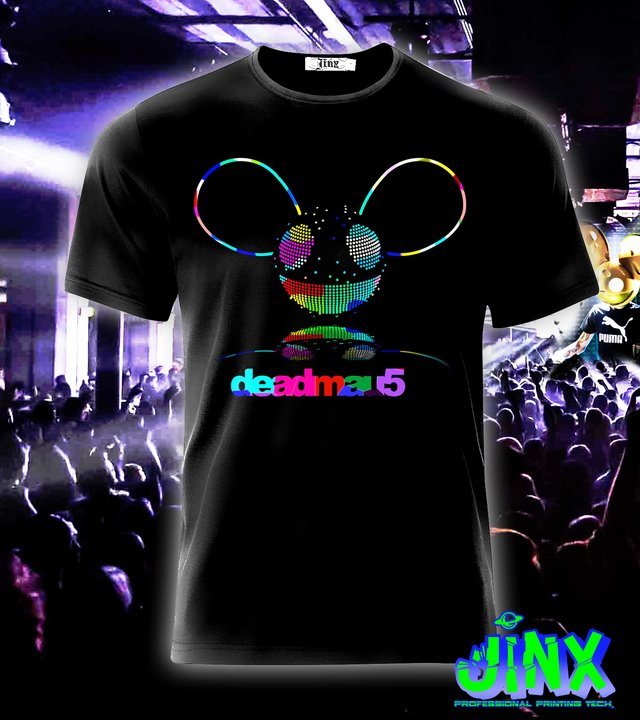 Playera o Camiseta D Mouse - Jinx