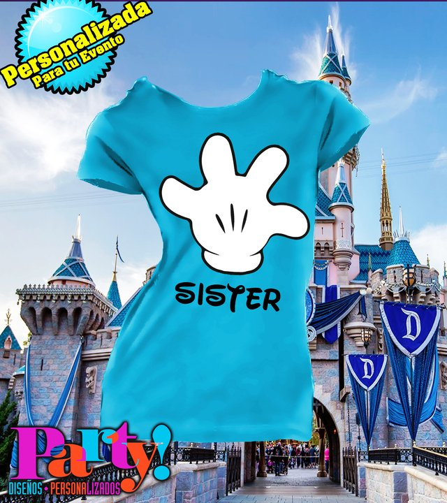 Playera Personalizada Mickey Vacation  - tienda online