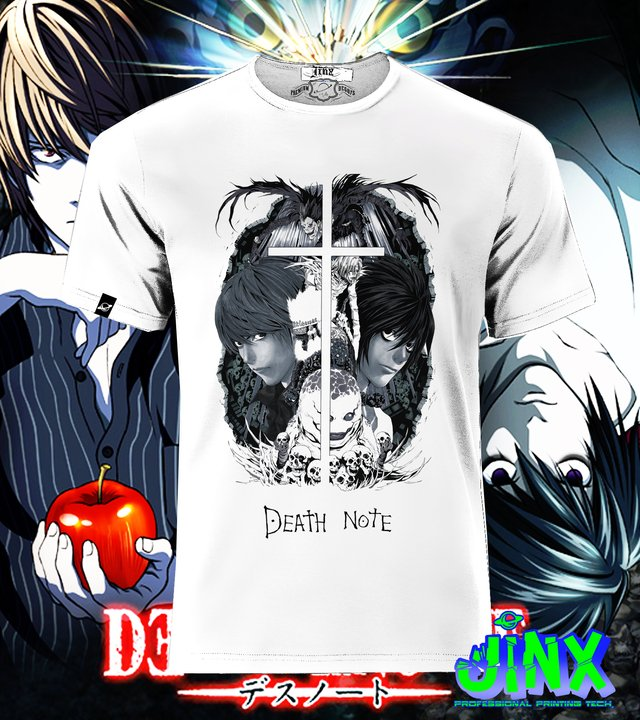 Camisetas Death Note