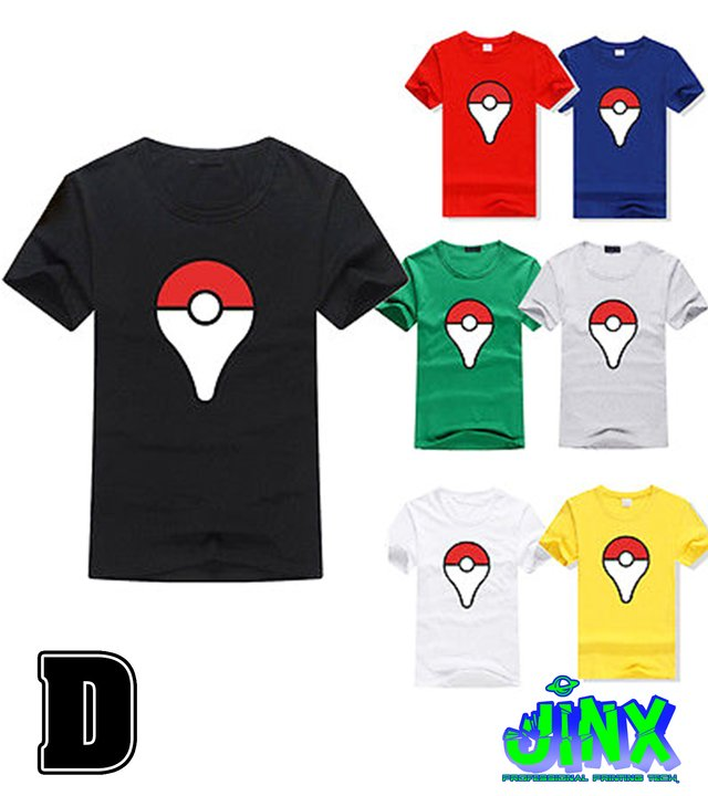 Playera o Camiseta Pokemon Team - tienda online