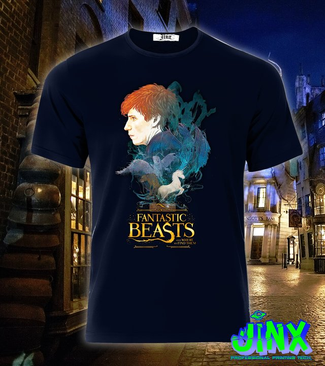 Playera o Camiseta Fantastic Beasts