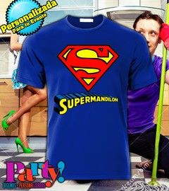 Playera Personalizada Super Man