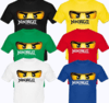 Playera Ninja Go - cartoon samurai