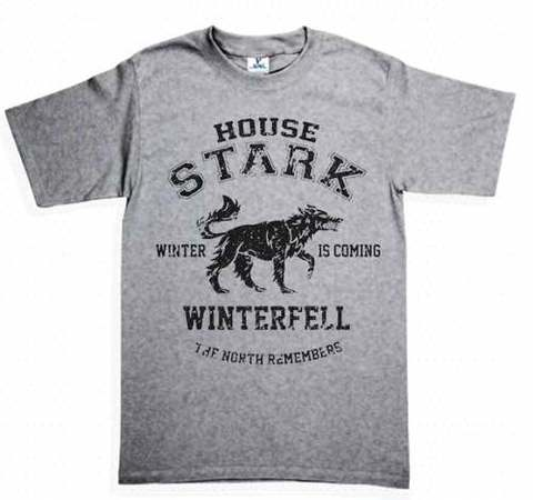 camiseta playera casa stark house
