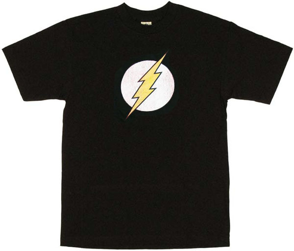 Playera flash negra
