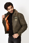 Campera Aviator Green