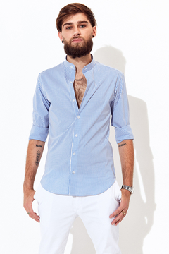 Camisa Max Light Blue - Britches