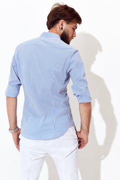 Camisa Max Light Blue en internet