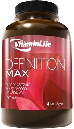 DEFINITION MAX 120 cápsulas VitaminLife