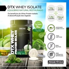 DTX WHEY PROTEIN ISOLATE 600 G PROBIÓTICA