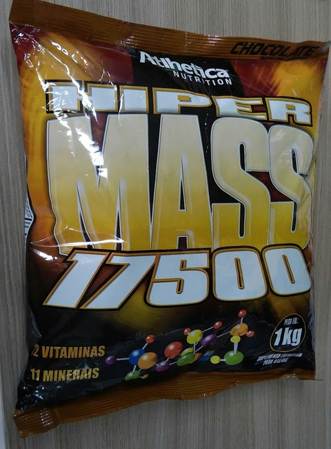 HIPER MASS 17500 Chocolate 1kg Atlhetica Nutrition