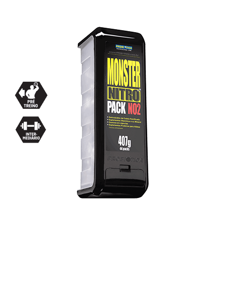 MONSTER NITRO PACK NO2 401 GRAMAS - 44 PACKS