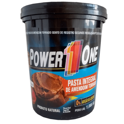 PASTA DE AMENDOIM INTEGRAL POWER 1 ONE 1,005KG